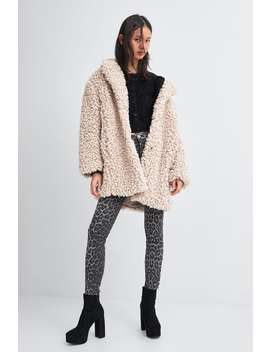 Faux Fur Coat  Starting From 50 Percents Offwoman Sale by Zara