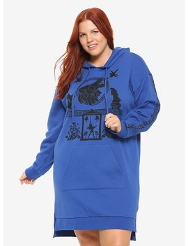 Disney Hercules Pottery Hoodie Dress Plus Size by Hot Topic
