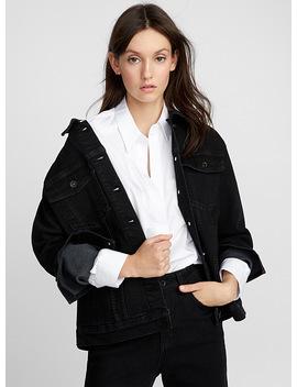 Oversized Denim Jacket by Icône