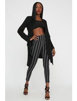 High Rise Skinny Cropped Pant by Urban Planet