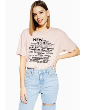 Nyc District T Shirt by Topshop