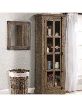 One Allium Way Orner Tall Single Door Accent Cabinet & Reviews by One Allium Way