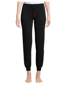 Cashmere Jogger Pants by Neiman Marcus Cashmere Collection