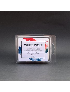 White Wolf // Soy Wax Melts   Bucky   Infinity War   Handmade   Sebastian Stan   Gifts   Barnes   Bookish   Fandom Candles by Etsy