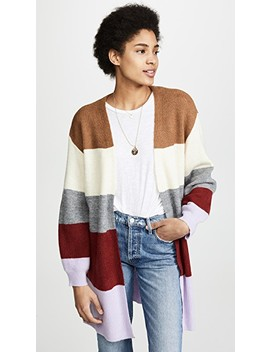 Colorblock Cardigan by Moon River