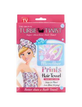 Turbie Twist The Original Microfiber Prints Hair Towel (Color And Design May Vary) by Turbie Twist