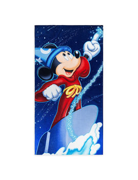 Sorcerer Mickey Mouse Beach Towel by Disney