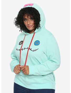 Disney Lilo & Stitch Scrump Girls Hoodie Plus Size by Hot Topic