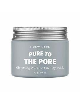 I Dew Care Magic Clay Mud Mask 2.46 Oz. (Pure To The Pore Pore Cleansing Jeju Volcanic) by I Dew Care