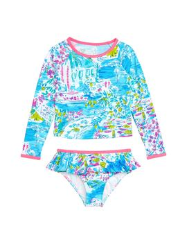 Cora Two Piece Rashguard Swimsuit by Lilly Pulitzer®