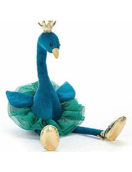 Jewh Simulation Swan Flamingo   Plush Toy Cute Wildlife Bird   Stuffed Animals Doll   Baby / Girls / Kids / Lover / Children (25cm) ( Blue) by Jewh