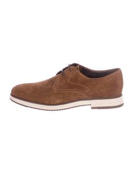 Suede Derby Shoes by Salvatore Ferragamo