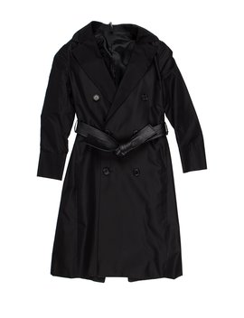 2002 Double Breasted Silk Coat by Dior Homme