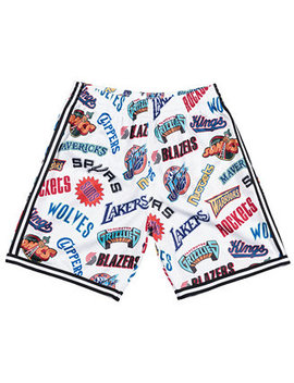 Men's Nba All Over Collection Shorts by Mitchell & Ness