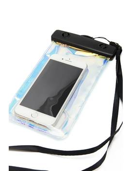 Iridescent Splash Proof Phone Pouch by Forever 21