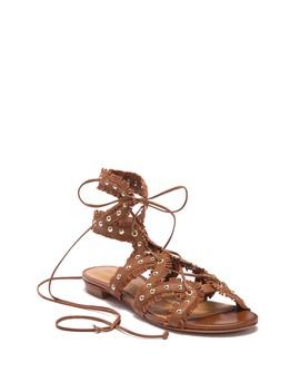 Nayara Studded Fringe Gladiator Sandal by Schutz