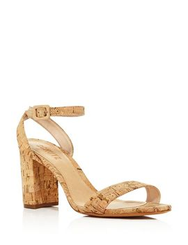 Women's Bebethy Cork Ankle Strap Sandals by Schutz