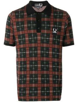 Jacquard Knit Polo Shirt by Raf Simons X Fred Perry