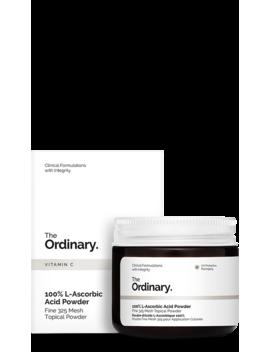 100 Percents L Ascorbic Acid Powder by The Ordinary