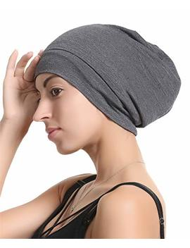 Premium Sleep Cap Slap Beanie Hat – Satin Silk Lined, Bamboo Outer by Gemazon Collection