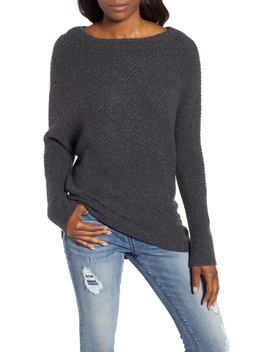 Asymmetrical Rib Knit Sweater by Caslon®