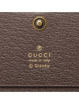Gg Card Case With Three Little Pigs by Gucci