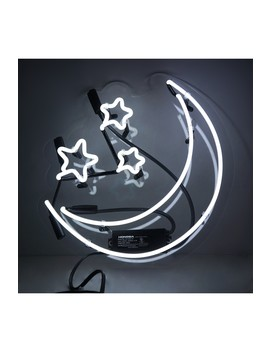 Moon & Stars Neon Sign by Oliver Gal Gallery