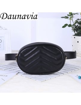 2019 New Bags For Women Pack Waist Bag Women Round Belt Bag Luxury Brand Leather Chest Handbag Beige New Fashion High Quality by Daunavia
