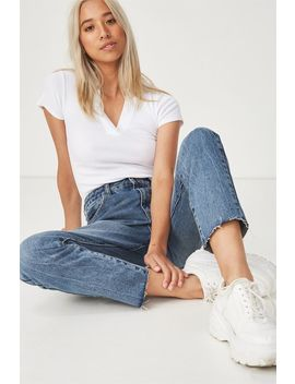 High 90 S Mom Jean by Cotton On