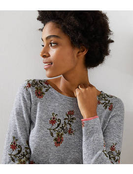 Blooming Vine Sweater by Loft