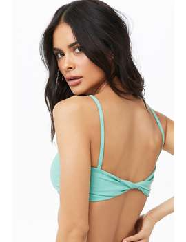 Twisted Bikini Top by Forever 21