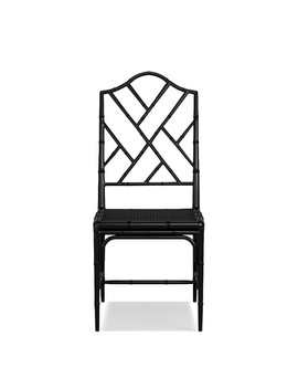 Chippendale Dining Chair Frame, Side, White by Williams   Sonoma