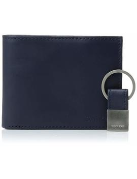 Calvin Klein Mens Calvin Klein Leather Bifold Wallet With Key Fob by Amazon