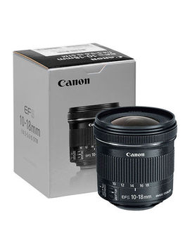 Canon Ef S 10 18mm F/4.5 5.6 Is Stm Lens   9519 B002   Brand New by Canon
