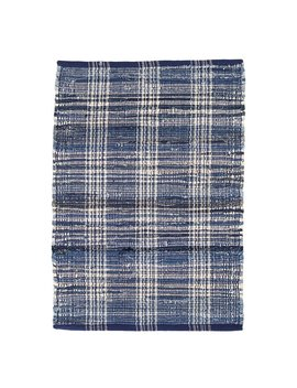Dash And Albert Rugs Plaid Cotton Denim Area Rug & Reviews by Dash And Albert Rugs
