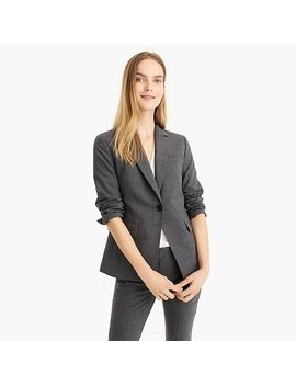 Slim Single Button Blazer In Everyday Wool by J.Crew