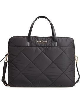 Quilted Nylon Universal Laptop Commuter Bag by Kate Spade New York