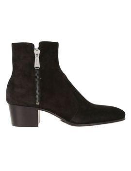 Balmain Zipped Ankle Boots by Balmain