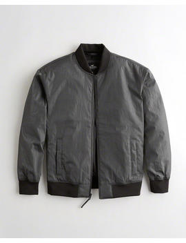 Iridescent Bomber Jacket by Hollister