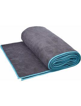 Amazon Basics Yoga Towel, Blue by Amazon