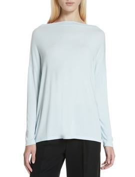 Bateau Neck Top by Vince