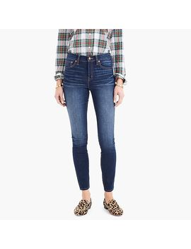 """9"""" High Rise Toothpick Jean In Indigo Wash With Thermolite® by 9"""" High Rise Toothpick Jean In Indigo Wash With Thermolite"""