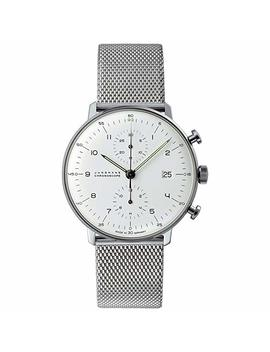 Junghans Watch   Max Bill   Chronoscape   Milanese by Amazon