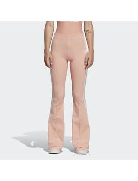 Flared Track Pants by Adidas