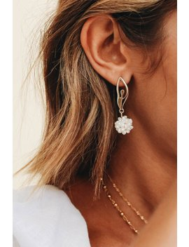 Feature Activist Pearl Earrings by Vergegirl