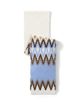 Women's Winter Fair Isle Scarf by Lands' End