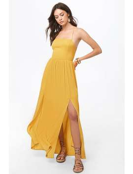 M Split Maxi Dress by Forever 21