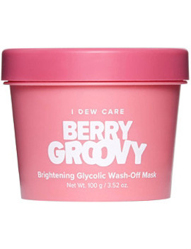 I Dew Care Berry Groovy Brightening Glycolic Wash Off Mask by Memebox