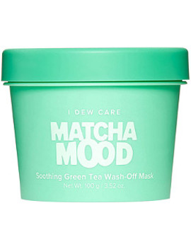 I Dew Care Matcha Mood Soothing Green Tea Wash Off Mask by Memebox