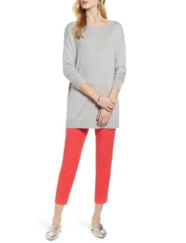 Boatneck Tunic Sweater by Halogen®